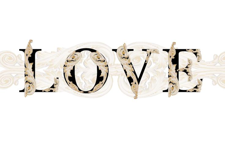 'Love' typography by Brianna Buza