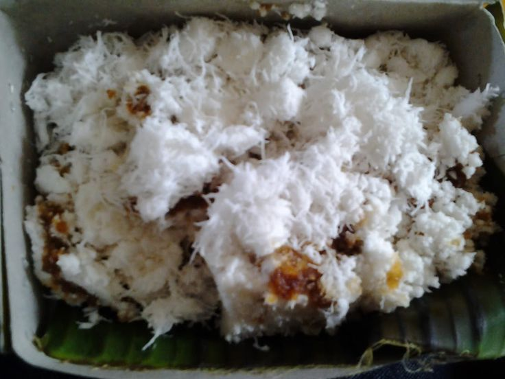 Makanan Indonesia/Sunda (Indonesian/Sundanese food/snack) Awug