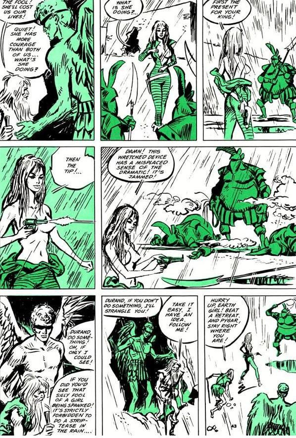 Pity, Comic strip graphic apologise