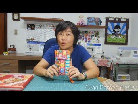 (46) DIY - Porta Celular Carteira - Silvia Ramos Atelier - YouTube
