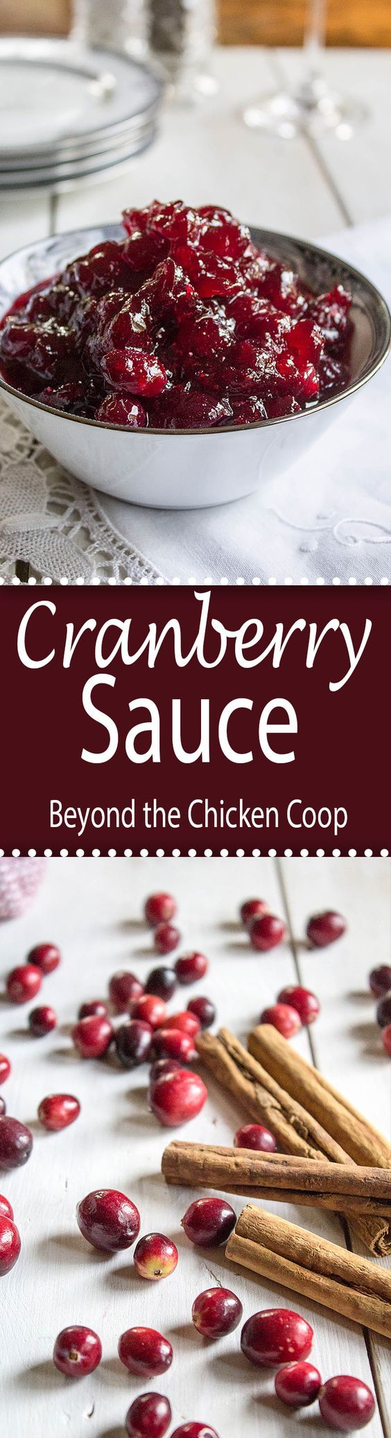 Homemade Whole Berry Cranberry Sauce | Beyond the Chicken Coop