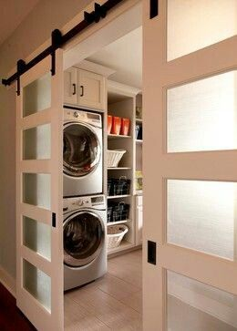 Nifty alternative to Pocket Doors