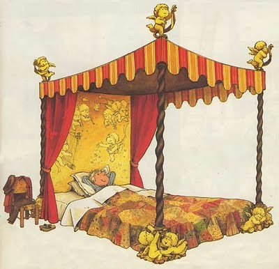 "Wish I had this bed... from: ""The House that Beebo Built"" by Philippe Fix"