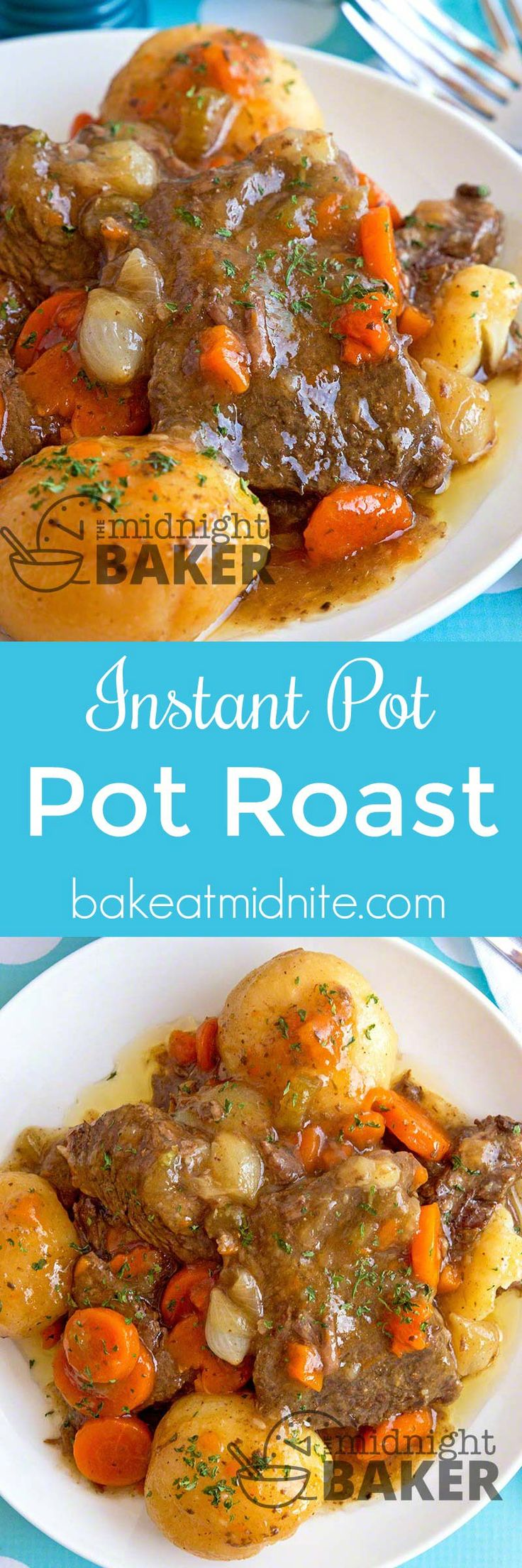 Not only is this pot roast quick and easy, thanks to your Instant Pot, but it's tasty and easy on the budget as well.