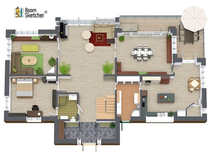 167 best images about real estate floor plans on pinterest for Floor plan software for realtors