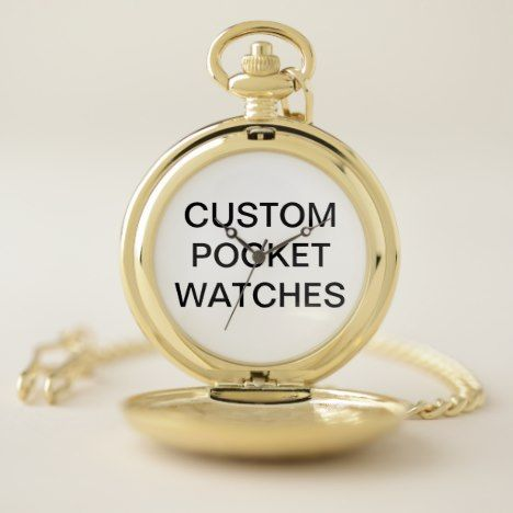 Custom Personalized Pocket Watch Blank Template #pocketwatch