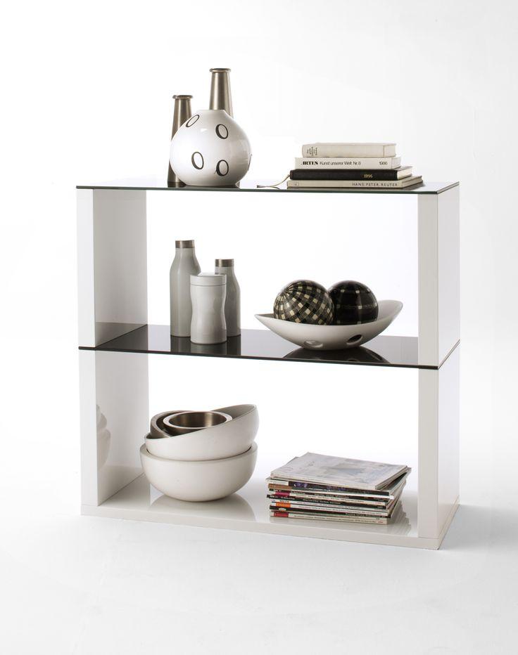 Regal / Raumteiler Imperia, Glas schwarz Schwarz,Weiss  163,5 cm Jetzt bestellen unter: http://www.woonio.de/p/regal-raumteiler-imperia-glas-schwarz-schwarzweiss-1635-cm/