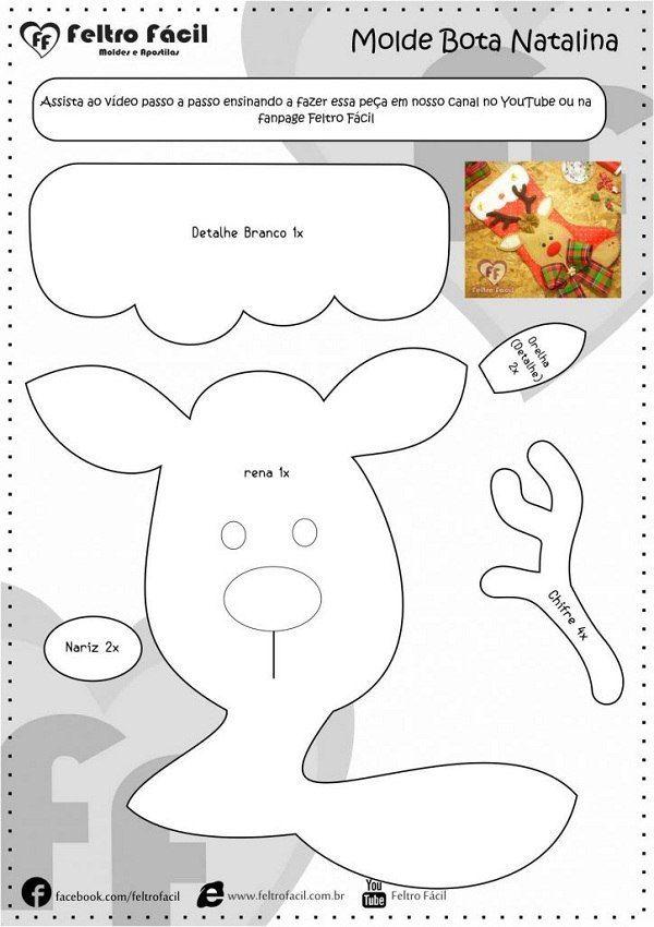 430 besten игрушки из фетра Bilder auf Pinterest | Weihnachtsbasteln ...