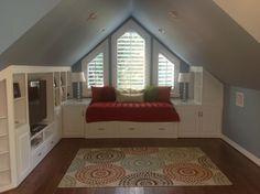 Small Bonus Room Decorating Ideas~Over the garage or unused attic space... stecknadeln.blogspot.com