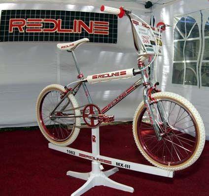 1982 Redline MX-III - BMXmuseum.com - my favorite bike of the 2008 Rockford Show