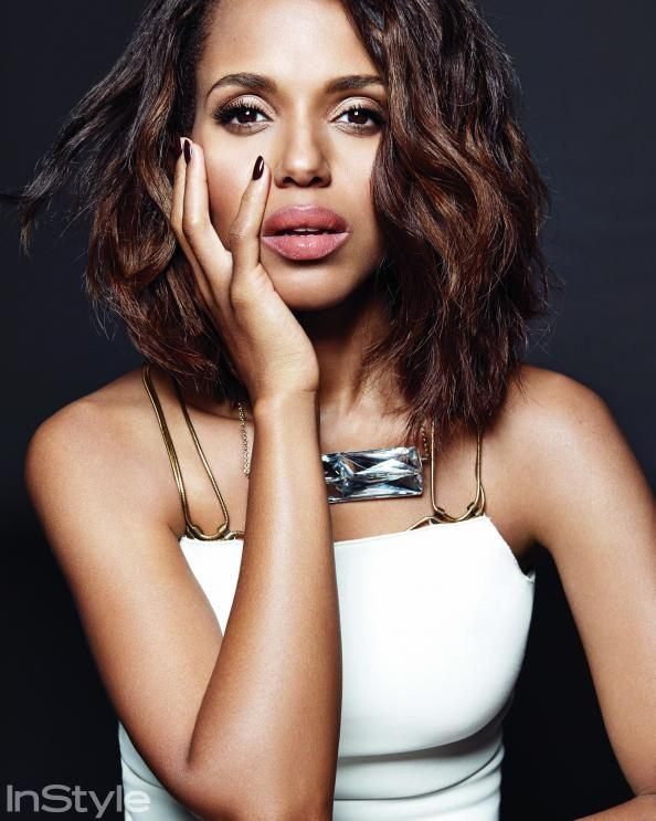 Kerry Washington Gets Ultraglam Inside the March Issue of InStyle #InStyle