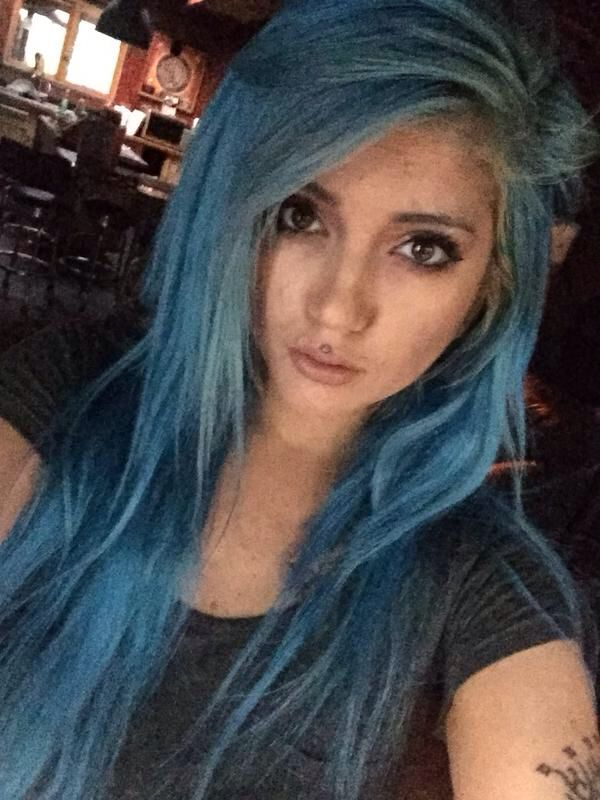 Black And Blue Scene Hair Leda 563 best images about ...