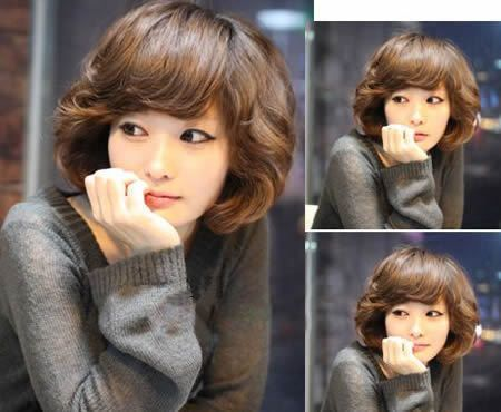 2011 Korean Style Perm Short Hairstyles 3