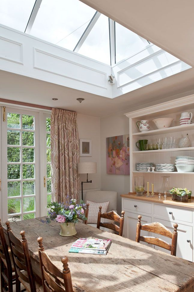 My French Country Home, French Living - Sharon Santoni would love to have a big sky light like this