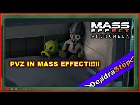 Mass Effect Adromeda Plant Vs Zombies Garden Warfare Easter Egg