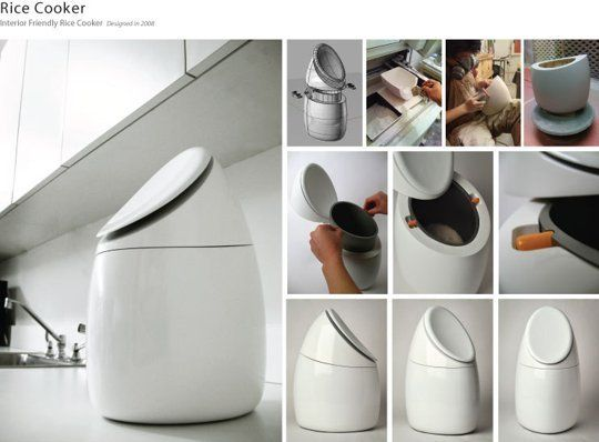 Look! Sexy Rice Cooker Design