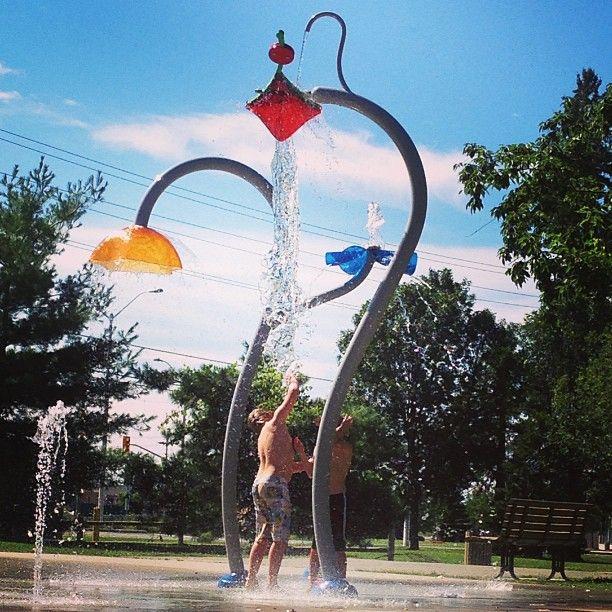 #vortex #watergarden #splashpad | www.vortex-intl.com
