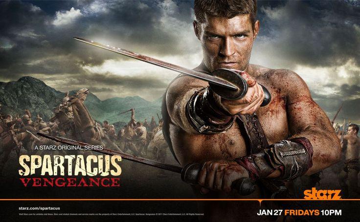 Spartacus Vengeance HD Wallpaper