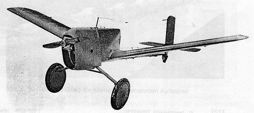 German Argus As-292 surveillance drones from the 1930s