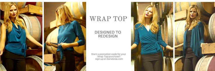 Don't forget to pack your Wrap Top!  #Travel #Fashion #Convertible #Top