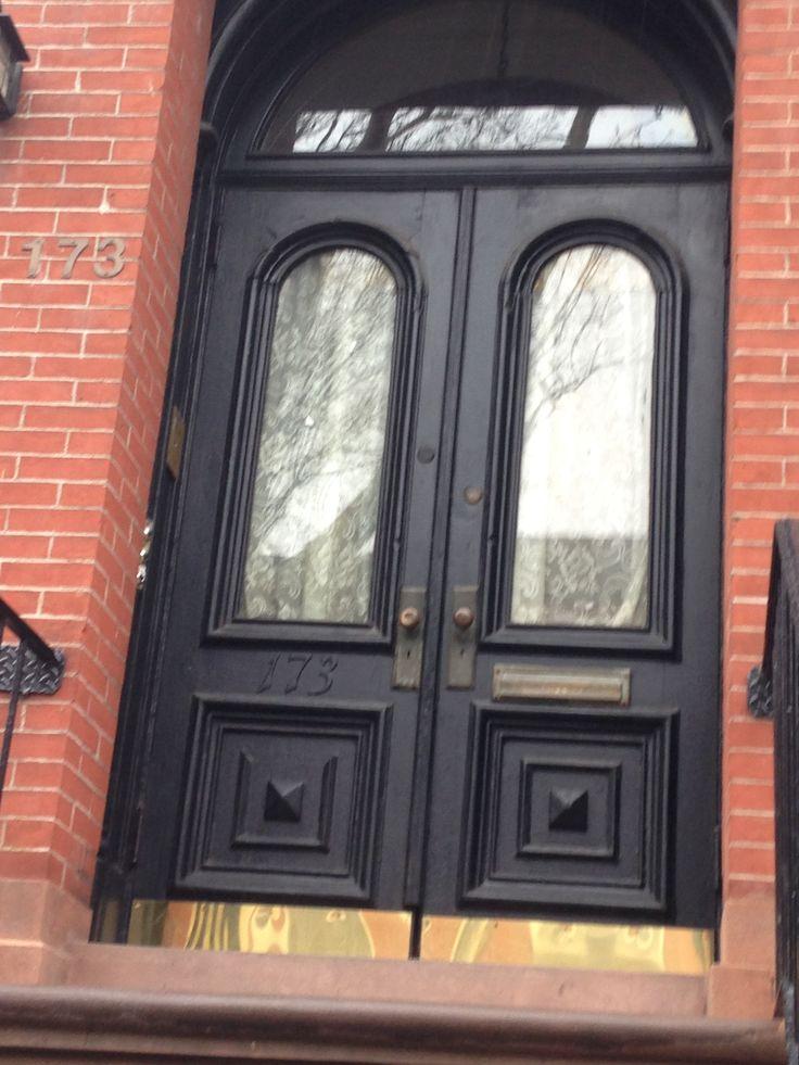 31 best Brownstone - Front Doors images on Pinterest | Entrance ...