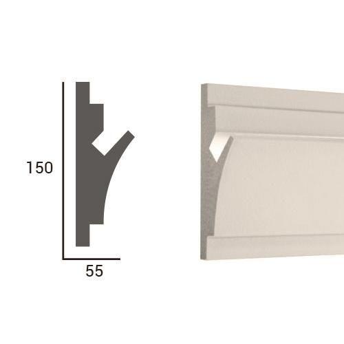 LD402.jpg bvdecor.com/... La coleccion BV DECOR LIGHT son unos elementos decorativos arquitectonicos para los sistemas de LED de la iluminacion indirecta. El perfil del elemento es construido tomando en cuentala posibilidad de la facil instalacion de tiras de LED modernas, que son equipadas con los elementos de la union rapida. Los elementos decorativos BV DECOR LIGHT son compatibles con todos los tipos de las cintas de LED. bvdecor.com/es/ #tirasdeluz