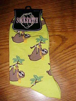 green sloth socks - Google Search