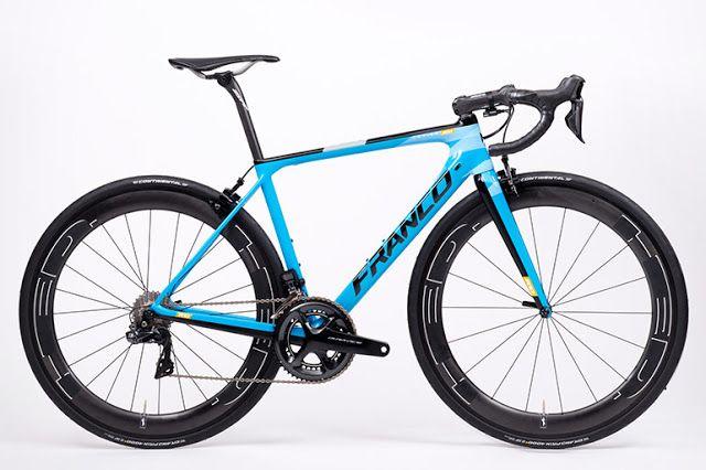 TOP 5 BICICLETAS DE CARRETERA: Franco Latigo RS1, una bici muy elegante