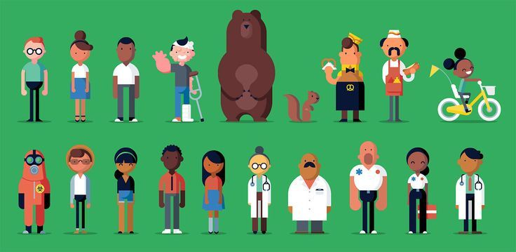 new yorker character illustration - Google Search