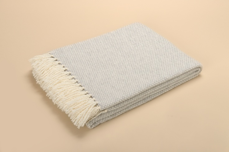 Buy BERN GREY #CASHMERE THROW online. Amancara, #luxury linens since 1952.