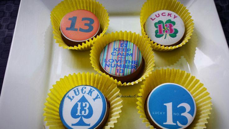 Chocolate Birthday Cookies