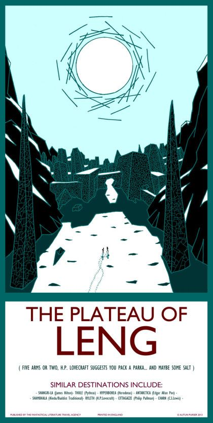 41. The Plateau of Leng - Autun Purser Illustration