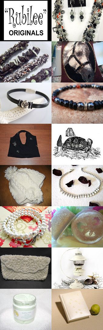 A Little Black and a Little White by Linda Buck on Etsy--Pinned with TreasuryPin.com