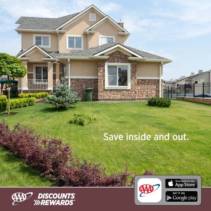 Worried about curb appeal? Moving and stressed? AAA can help – not because your home is considered a roadside emergency – but because membership entitles you to #AAADiscounts on home and business needs.  From moving and storage to home improvements and technology, AAA Discounts has you covered from beginning to end.  Download the AAA Mobile App to find discounts that will make your house a home now. AAA.com/mobile