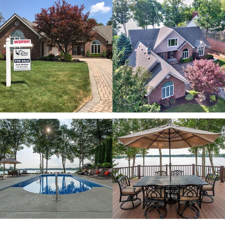 New Waterfront Listing! #GeistRealty 317-874-7041 http://www.homesaroundgeist.com/homes-for-sale-details/9407-PROMONTORY-CIRCLE-INDIANAPOLIS-IN-46236/21501107/113/