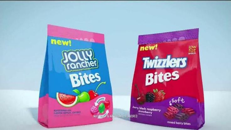 Jolly Rancher Bites and Twizzlers Bites