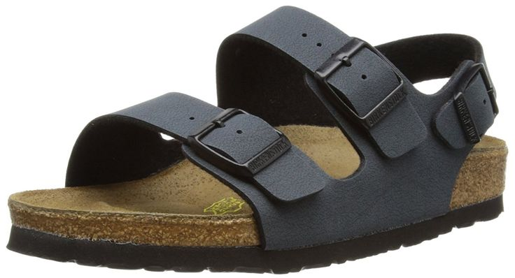 Birkenstock 'Milano' Birko-Flor (Women's) Heel-Strap Sandal, Basalt (38 M EU - 7-7.5 US Women) -- Insider's special review you can't miss. Read more  : Birkenstock sandals