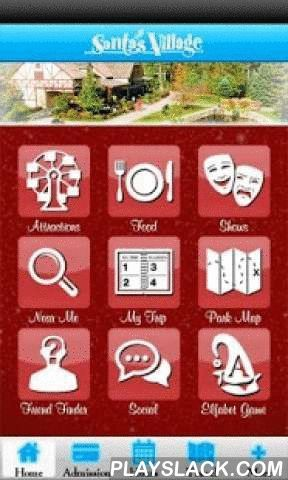 Santa's Village MyPark App  Android App - playslack.com , Visiting Santa's Village? Take along the Santa's Village MyPark Mobile App -- it helps you plan your trip before visiting, and helps keep you on track while you're at the park, with information and features such as:•Admission rates, operating dates & hours, and directions to the park. •Ride descriptions, locations, and height requirements. •Dining Options and locations in the park, searchable by your favorite foods or by…