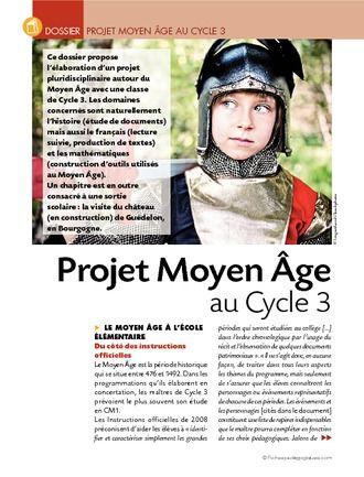 Projet Moyen Age au Cycle 3 (dossier)