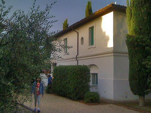 La residenza @Subretia all'interno della tenuta @RoccadiFabbri #InMontefalco foto di @Robert Osborn Grassilli