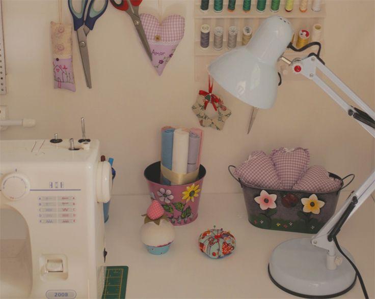 Como decorar e organizar um ateliê em casa - Casinha Arrumada