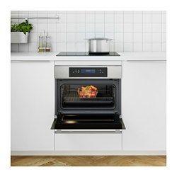 IKEA - KULINARISK, Microondas combi+horno aire forzado, 5 años de garantía. Consulta las condiciones generales en el folleto de garantía.Horno de convección de aire forzado para ventilación y horno microondas, todo en uno. Ahorra espacio y permite combinar ambas funciones para obtener óptimos resultados en asados y guisos a la velocidad de un microondas.Podrás elegir la función de grill más adecuada para cocinar carne y verduras cortadas en rodajas finas o gratinar platos.Función de inicio…