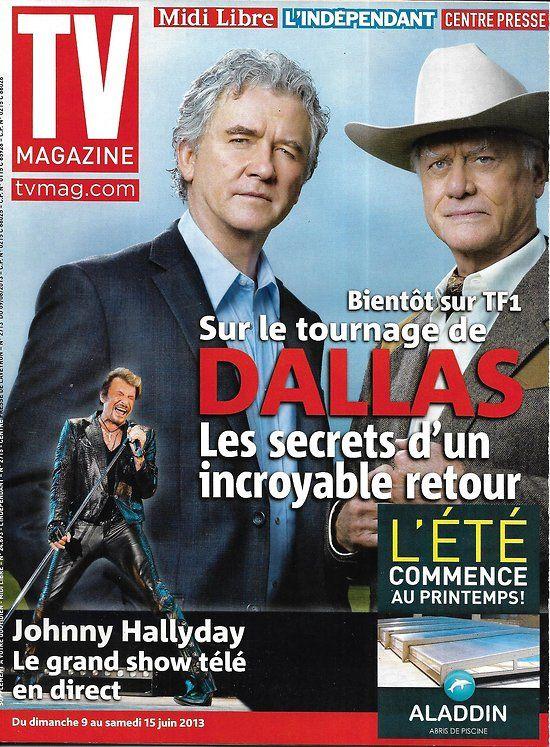 "TV MAGAZINE n°21412 09/06/2013 ""Dallas"" Patrick Duffy"