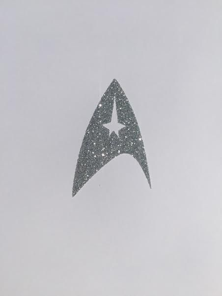 STAR TREK Iron On Design, Star Trek Costume for Dress Up, Star Trek Themed Birthday Party or Halloween