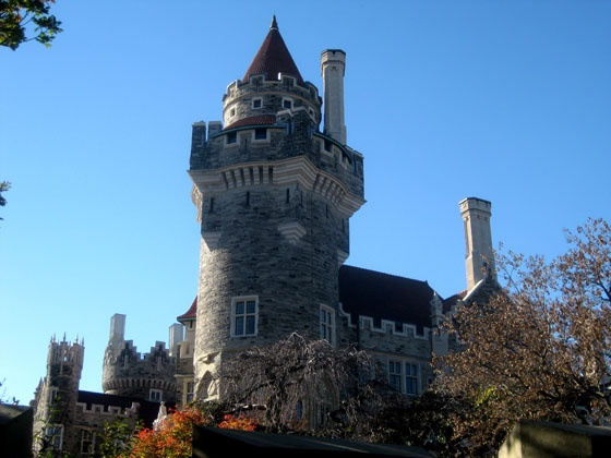 The main tower of Casa Loma in Toronto