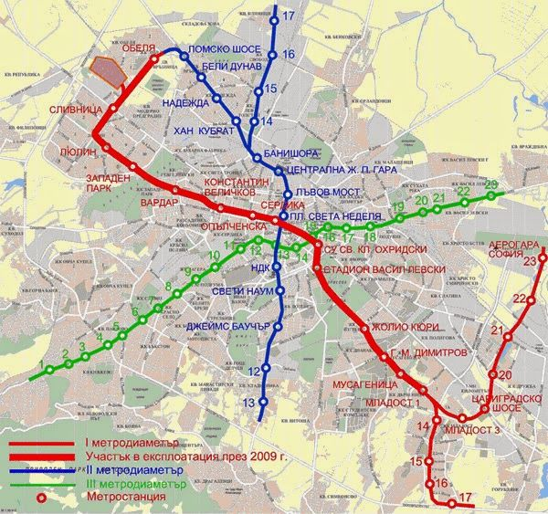 Uncle Bulgaria's Blog on all things Bulgarian: Sofia Metro to Run More Frequent Services From Apr...