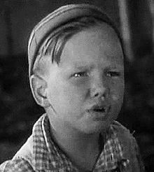 Bobby Wheezer Hutchins........ (Robert E Hutchins) (1925-1945) Child Actor in the Our Gang Series - perished in an aviation accident during WWII