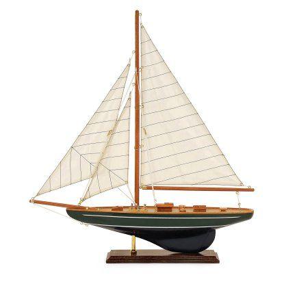 IMAX 21.75H in. Small Sailboat