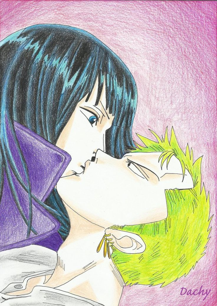 Nico Robin and Roronoa Zoro