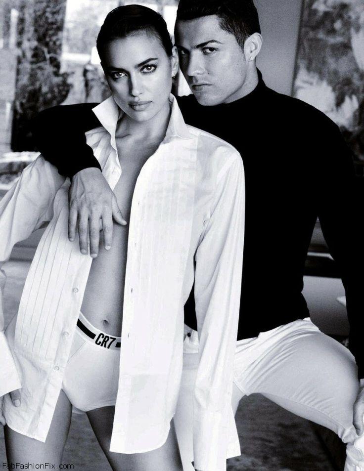 Irina Shayk Cristiano Ronaldo for Vogue Spain June 2014